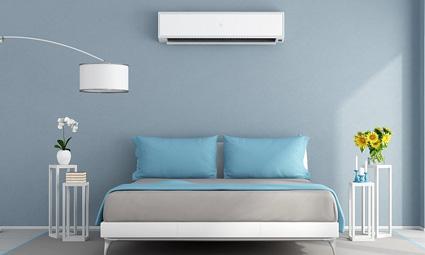 Airco toepassing slaapkamer